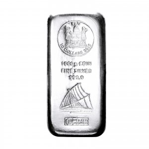 1kg Münzbarren Fiji in Silber