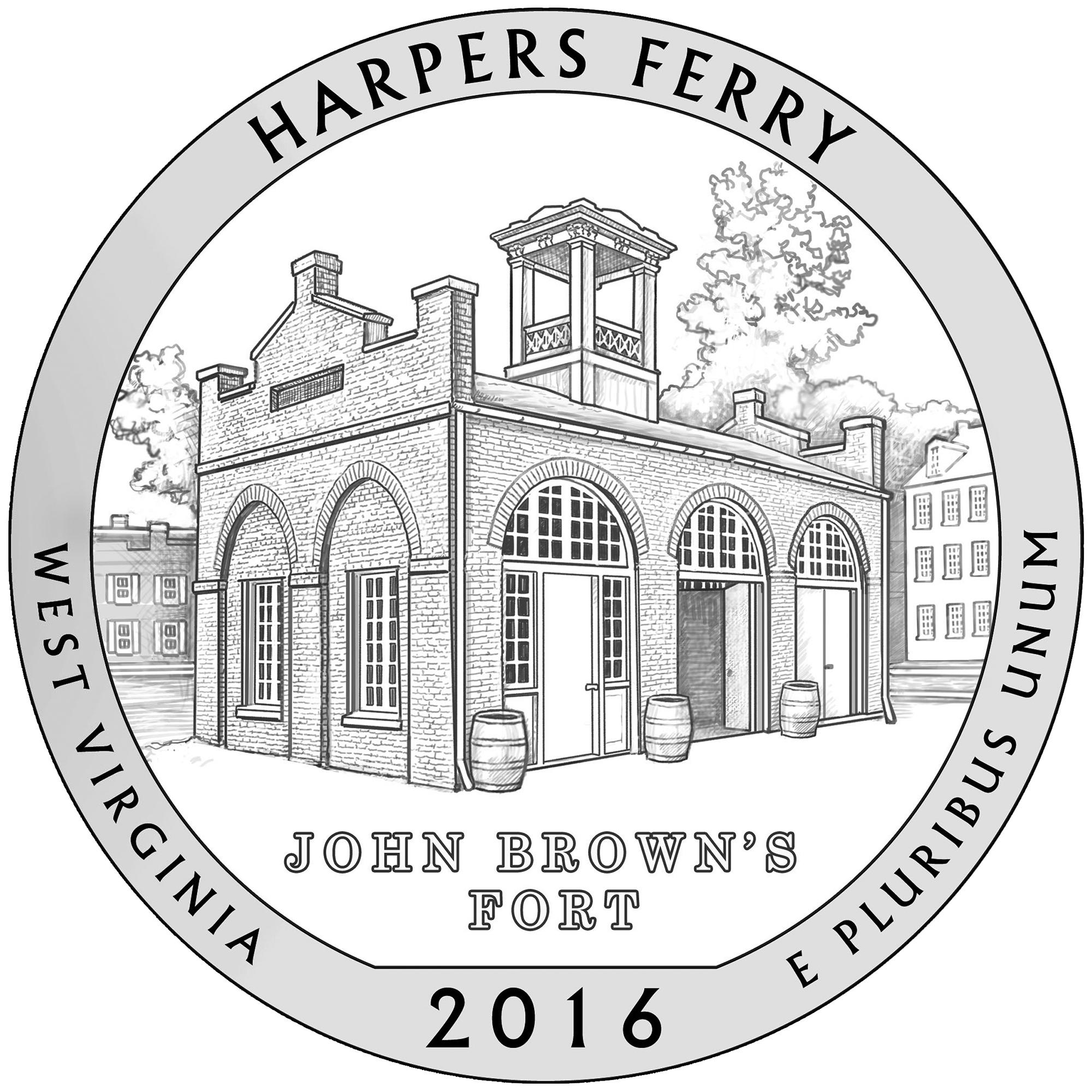 Silbermünze Harpers Ferry kaufen geht ab 6.Juni 2016